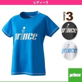 [プリンス ウェア(レディース)]Tシャツ/レディース(WL8084)テニスウェア女性用