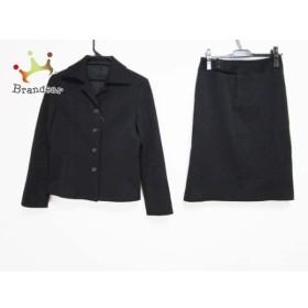 ノーリーズ NOLLEY'S スカートスーツ サイズ38 M レディース 黒     スペシャル特価 20190610
