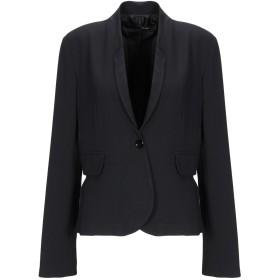 《期間限定セール開催中!》ANNARITA N レディース テーラードジャケット ブラック 44 ポリエステル 77% / レーヨン 17% / ポリウレタン 6%
