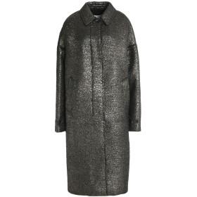 《期間限定 セール開催中》JIL SANDER レディース コート ブラック 34 毛(アルパカ) 70% / バージンウール 30%