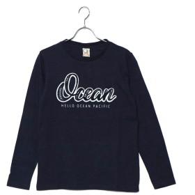 オーシャンパシフィック OCEAN PACIFIC レディス L/S.Tシャツ (NVY)