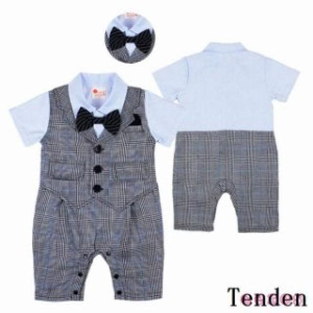 d2adf49273aed 子供フォーマル服 カバーオール 男の子 半袖 結婚式 ロンパース 通販 ...