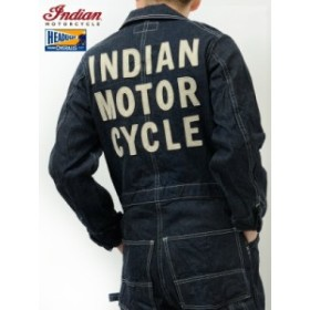 インディアンモーターサイクル ヘッドライト つなぎ ツナギ INDIAN MOTORCYCLE HEAD LIGHT 日本製 Snow Man・SixTONE着用 IM13840