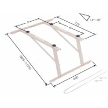 日晴金属 クーラーキャッチャー 傾斜屋根直角用 溶融亜鉛メッキ仕上げ C-LZG