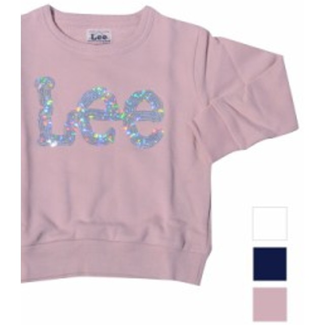 LEE リー キッズ トレーナー 男の子 女の子 KIDS SPANGLE SWEAT SHIRTS スパンコール LK0420-218-204-261