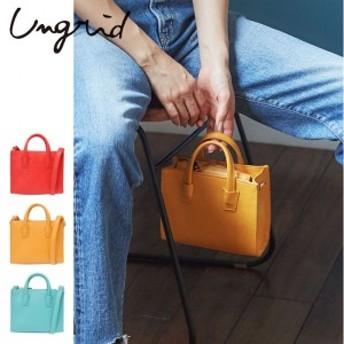 Ungrid(アングリッド) カラーミニバッグ(111731922101) 2017Summer新作 ミニバッグ ショルダー 2WAY レデ