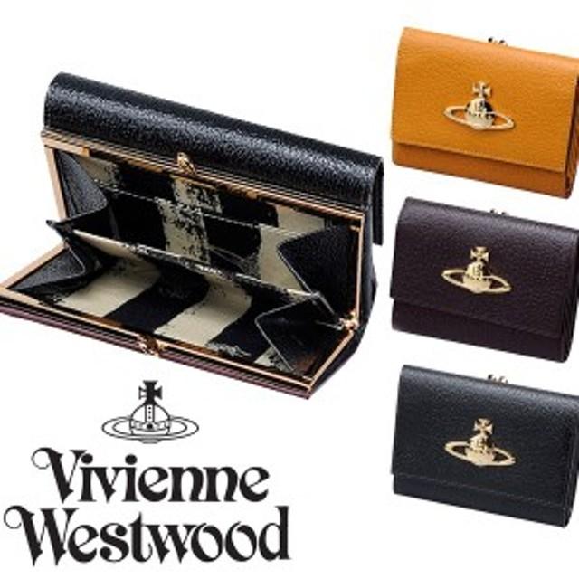 459526f0c117 ヴィヴィアンウエストウッド EXECUTIVE 口金札入 二つ折り がま口 財布 3218C92-3-F