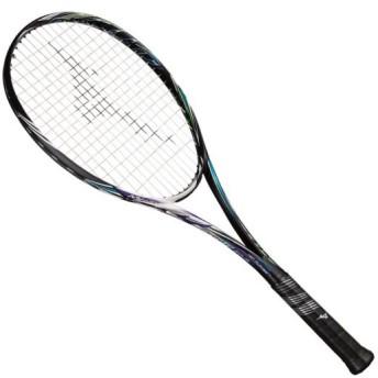 MIZUNO SHOP [ミズノ公式オンラインショップ] スカッド01-C(ソフトテニス) 67 ハイブリッドブラック×ブルーパープル 63JTN854