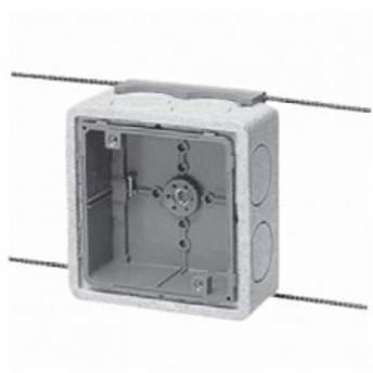 未来工業 【お買い得品 10個セット】埋込四角アウトレットボックス 中形四角深型 断熱カバー・4mmバー付 CDO-4BDB_10set