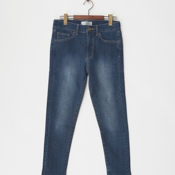 HARYU ボーイフレンドデニム 661126041 ネービーブルー パンツ サイズ:35
