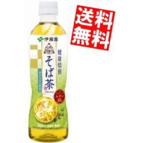【送料無料】伊藤園 伝承の健康茶 健康焙煎 そば茶 500mlペットボトル 24本入[のしOK]big_dr
