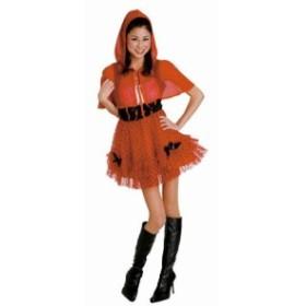 ハロウィン コスプレ 仮装 大人 コスチューム レディース レッド ケープガール 830 衣装 イベント ハロウィーン 宴会 あ