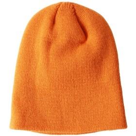 ジギーズショップ ミニリブニット帽 / ニット帽 ニットキャップ 帽子 ビーニー帽 ビーニー ニット キャップ メンズ オレンジ フリーサイズ 【JIGGYS SHOP】