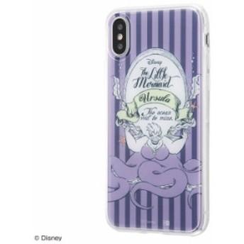iPhone XS iPhone X ケース リトルマーメイド ディズニー キャラクター TPUケース+背面パネル/私の野望 カバー アリエル iphonexs