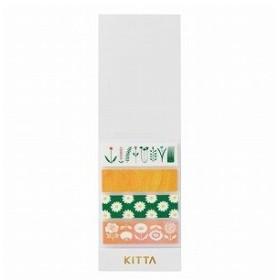 キングジム マスキングテープ KITTA Basic KIT007 フラワー