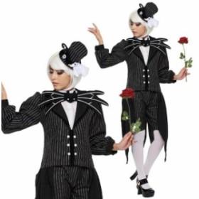 ハロウィン 仮装 大人 コスチューム ディズニー レディース ジャック スケリントン 衣装 コスプレ イベント hallowee