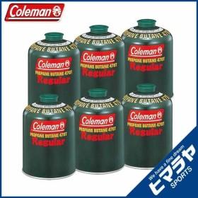 コールマン ガスカートリッジ 純正LPガス燃料 Tタイプ 470g 6個 5103A470T coleman