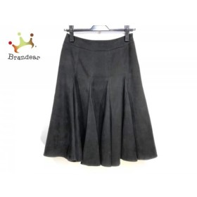 マテリア MATERIA スカート サイズ36 S レディース 黒 フレアスカート               スペシャル特価 20190522【人気】