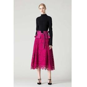 ADORE / アドーア コードフルールレースベルト付きスカート