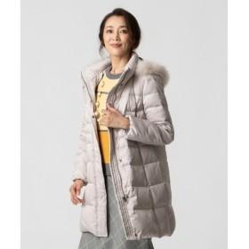 L size ONWARD(大きいサイズ) / エルサイズオンワード 【軽くて暖かい!】マットサテンダウン ダウンジャケット
