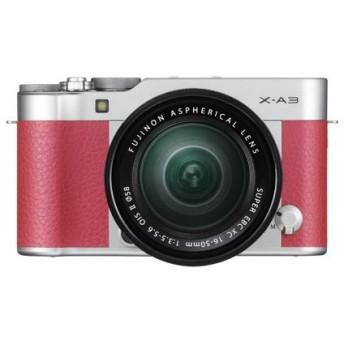 富士フイルム FUJIFILM X-A3/XC16-50mm F3.5-5.6 OIS II レンズキット ピンク ミラーレスカメラ 新品 送料無料