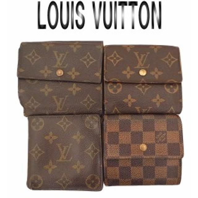 buy popular b2b62 aea9d LOUISVUITTON ルイヴィトン モノグラム ダミエ Wホック 財布 ...