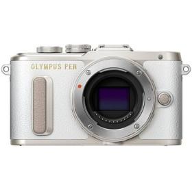 【中古】OLYMPUS ミラーレス一眼 PEN E-PL8 ボディ ホワイト 欠品あり 未使用