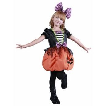 ハロウィン 衣装 子供 コスプレ ガーリーパンプキン 仮装 コスチューム ハロウィンパーティー ハロウイン イベント ハロウィー