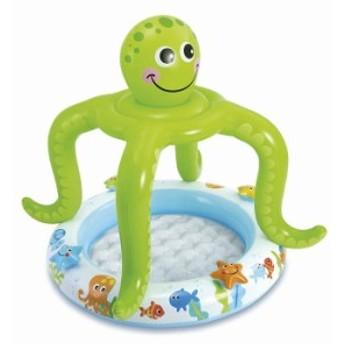 プール インテックス 家庭用プール 57115 子供用ビニールプール タコ 102x104cm 子供用プール SMILING O