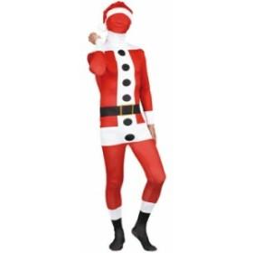 ハロウィン コスプレ ディズニー 衣装 大人用 全身タイツ メンズ The Fitman Santa Claus サンタクロース