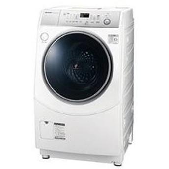 ES-H10C-WR(右開き) シャープ ドラム式洗濯乾燥機【標準設置無料】