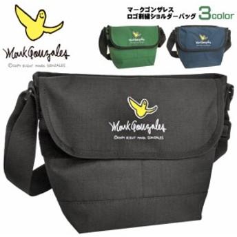 Mark Gonzales ショルダーバッグ ワッペン 刺繍 マークゴンザレス メッセンジャーバッグ MARK-MGR401