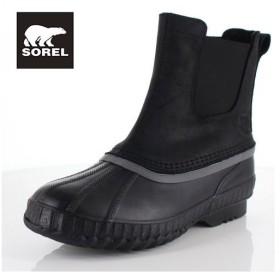 ソレル SOREL NM2609 010 メンズ ブーツ シャイアン ll チェルシー Cheyanne ll Chelsea ブラック 防水 保湿性 防寒 着脱簡単 サイドゴア セール
