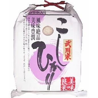 「A」受賞 30年産山梨県産武川米コシヒカリ 玄米5kgx1袋