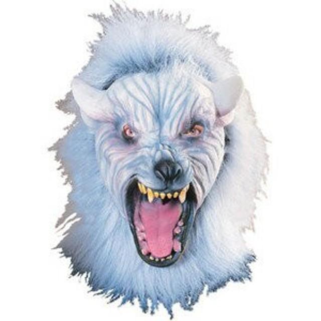 ハロウィン 衣装 コスプレ 仮装 マスク 仮面 ホラーマスク Silver Wolf 狼 ウルフ 2639 ものまね なりきり
