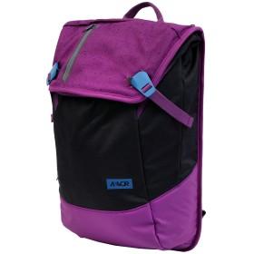 《期間限定セール開催中!》AEVOR Unisex バックパック&ヒップバッグ パープル 紡績繊維 Daypack