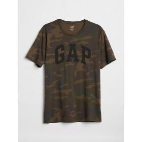 Gap カモフラージュロゴTシャツ