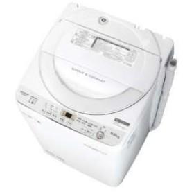 ES-GE6C-W シャープ 6.0kg 全自動洗濯機 (ホワイト系)