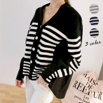 【送料無料】韓国のファッション ニット セーター 全3色 女性大人気 セーター 着痩せ