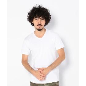 アヴィレックス AVIREX/アヴィレックス/デイリー 半袖 Vネック Tシャツ/DAILY S/S V NECK T SHIRT メンズ WHITE M 【AVIREX】