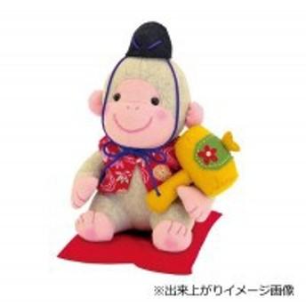 オリムパス 干支キット 申(さる・猿) クラフトキット 幸福の白さる(ぬいぐるみ) PA-713