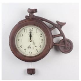 掛け時計 GB2072掛け時計 掛け時計 おしゃれ 掛時計 北欧 時計 インテリア 振り子時計 両面時計