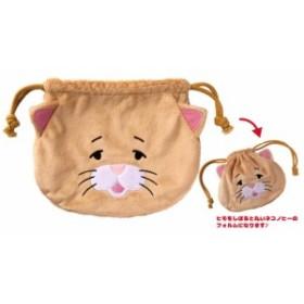 「猫グッズ」ネコノヒー ぬいぐるみ巾着(96個入)