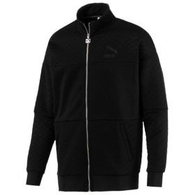 (送料無料)PUMA(プーマ)メンズスポーツウェア ジャケット RETRO キルテッドジャケット 57767701 メンズ プーマ ブラック