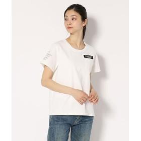【30%OFF】 アヴィレックス Women's/ネーヴァル パッチ Tシャツ/NAVAL PATCH T SHIRT レディース OFF/WHITE F 【AVIREX】 【セール開催中】