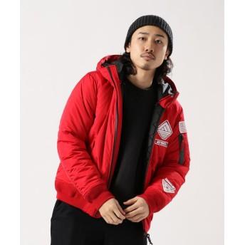 アヴィレックス AVIREX/アヴィレックス/ウォーム ラインド フーディー MA 1/WARM LINED HOODIE メンズ RED XL 【AVIREX】