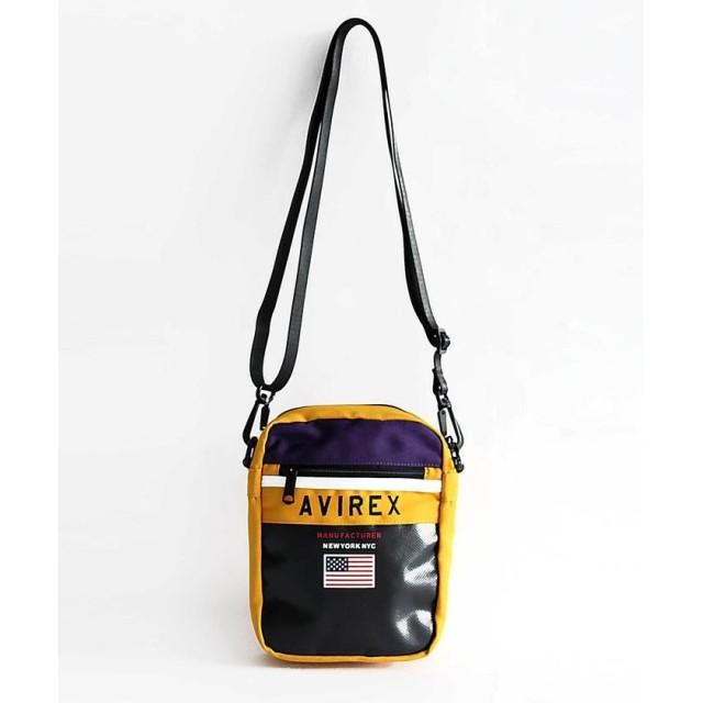 【30%OFF】 アヴィレックス AVIREX/アヴィレックス/オールドスクール ミニショルダーバッグ/OLD SKOOL MINI SHOULDER BAG メンズ YELLOW F 【AVIREX】 【セール開催中】