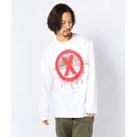エルエイチピー MADDICT/マディクト/Remake L/S T Shirts メンズ WHITE M 【LHP】