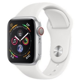 Apple Watch Series 4 GPS+Cellularモデル 40mm MTVA2J/A [ホワイトスポーツバンド]