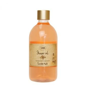 サボン SABON シャワーオイル ラベンダーアップル (ペットボトル) 500ml (シャワーオイル)